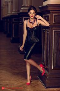 Cr 854 corset piele ecologica