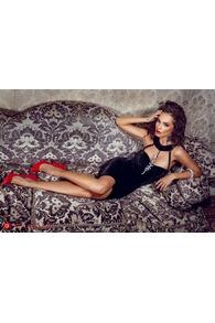 Rn 2 rochie catifea neagra