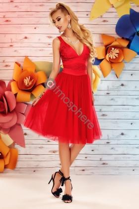 Rochie baby-doll midi rosie Rn 626