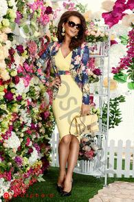 S 883 sacou imprimeu floral