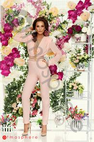 Sl 570 salopeta lunga rose pudra si tercot