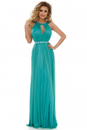 ROCHIE LUNGA TUL TURQUOISE RN 1756