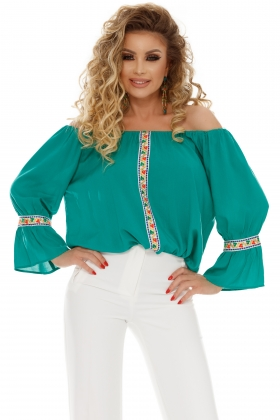 BLUZA CU MOTIVE TRADITIONALE BLN 217