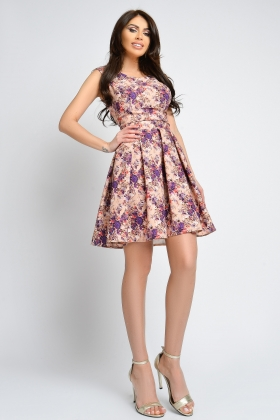 ROCHIE BABY-DOLL IMPRIMEU FLORAL RN 2278