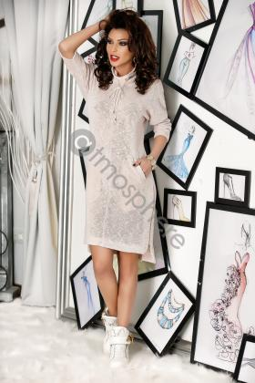 Rochie casual din tricot Rn 1088
