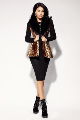 Veste dama Vesta blanita animal print Vs 762