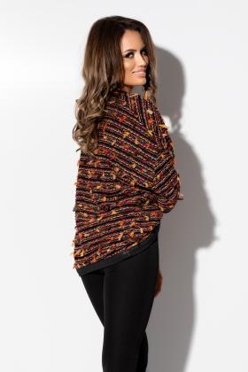Haine Dama Poncho casual bucle Po 1154