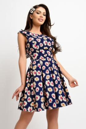 Rochie baby doll RN 2254 Rochie baby doll imprimeu floral RN 2278