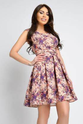 Rochie baby-doll imprimeu floral Rn 2278m