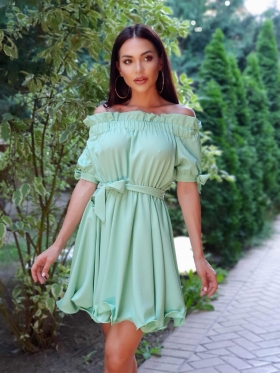 Rochie lunga sirena aurie Rn 1604 Rochie scurta baby doll vernil Rn 1865vn